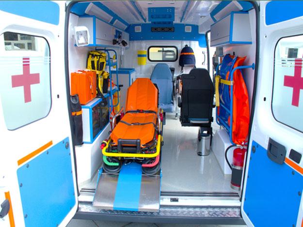 Desinfección de ambulancias