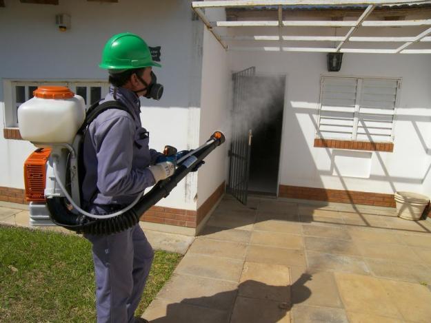 Fumigación en exteriores