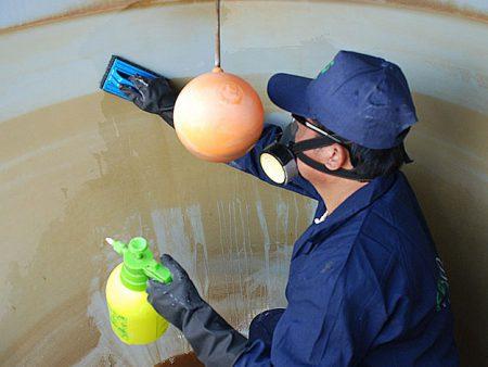 Desinfección de tanques de agua